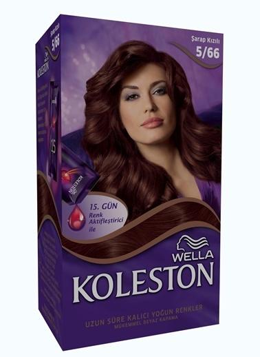 Koleston Koleston Kit Saç Boyası 5/66 Şarap Kızılı Renkli